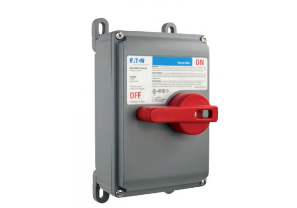 Bectrol Non Fused 60 Amp Motor Control Disconnect Switch