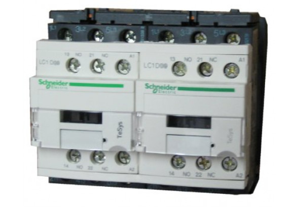 Bectrol iec 220 vac reversing contactor for Schneider motor starter selection guide